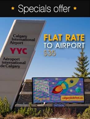Airdrie Calgary Airport Taxi Shuttle