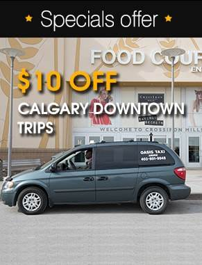 Airdrie to Downtown Cab